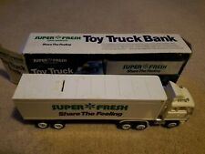 Super Fresh Food Markets Toy Truck Bank