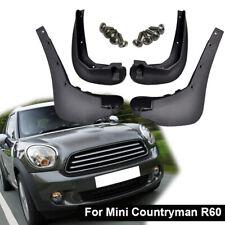 Set Molding Front Rear Mud Flaps Splash Guards For Mini Countryman R60 2011-2015