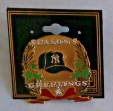 NY YANKEES SEASONS GREETINGS  PIN  by Peter David