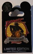 Disney Pin DLR Indiana Jones Temple Of The Forbidden Eye 20th Anniversary Cast