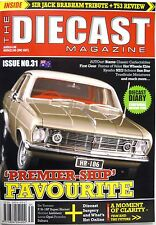 The Diecast Magazine #31 Biante Classic Brabham Liebherr Lotus Opel Porsche