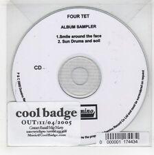 (GJ480) Four Tet, 2 track sampler - 2005 DJ CD