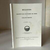 BULLETIN la Société de l'Histoire Paris et l'Île-de-France 138e année 2011