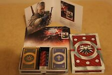 The Witcher 3: Wild Hunt - SET - Stamp,Envelope,Booklet,BLOOD AND WINE 2 X GWENT