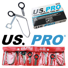 US PRO Tools Automotive 20pc Radio Removal Tool Key Set NEW 6772