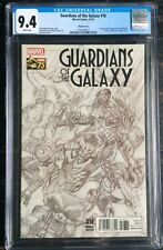 Guardians Of The Galaxy #18 Sketch CGC Alex Ross Variant CGC 9.4