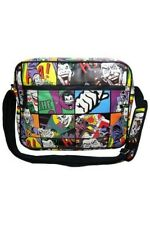 DC Comics Joker Comic Print Messenger Shoulder Bag - Back To College/ University