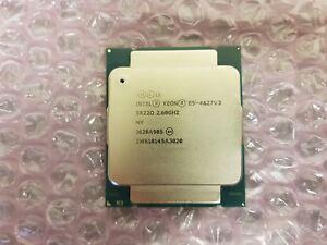 Intel Xeon E5-4627 v3 2.6Ghz 10 Ten Core CPU Processor SR22Q LGA2011 791918-001