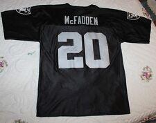 NFL Raiders Football Jersey MENS M Darren McFadden 20 Signed Bentonville Walmart