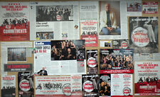 The Commitments - Theatre leaflet flyers/clippings - Killian Donnelly