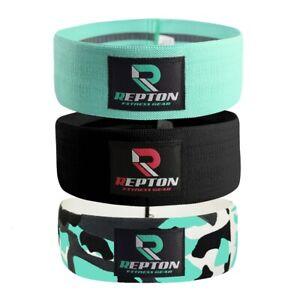 Repton Resistance Bands HIP CIRCLE Glute fabric Leg Squat Set yoga Gym Exercise