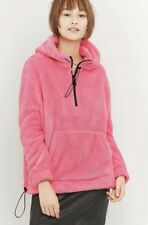 urban outfitters pink fluffy fleece XS