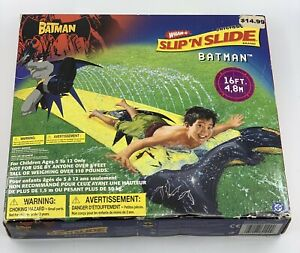 NEW 2003 DC The Batman Wham-O Original 16FT. Slip 'N Slide Water Toy - SEALED