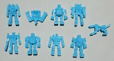 RARE LOT OF 9 TRANSFORMERS FIGURES MEXICAN PREMIUM TOYS AUTOBOTS PINK COLOR
