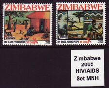 Zimbabwe 2005 HIV / Aids, set MNH | Simbabwe