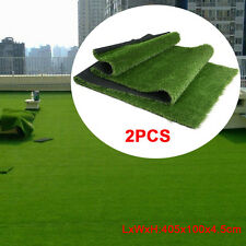 13'x3.3'x2(85.8 sq ft) Permeable Synthetic Grass Mat Artificial Pet Turf Lawn