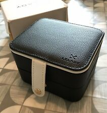 Small Travel Size Jewellery Box BLACK Ideal Gift