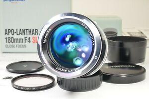 Voigtlander APO-LANTHAR 180mm f4 SL for Ai-s NIKON #a1585 Recently Overhauled