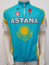 MAGLIA SHIRT CICLISMO ASTANA TEAM MOA UCI PRO TOUR TG.6 JERSEY CYCLING ES954