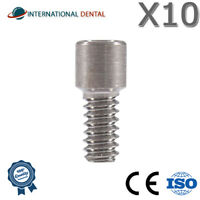 Lot Of 10 Screw For Multi Unit Abutment Dental Implant Titanium