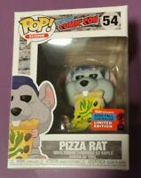 Funko Pop! Pizza Rat #54 - NYCC 2020 Shared Sticker