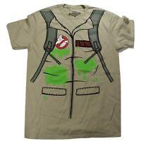 Ghostbusters Mens Peter Venkman Uniform Shirt New S, M