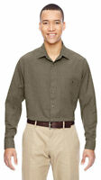 North End Men's Moisture Wicking Polyester Performance Dress Shirt. 87045