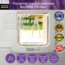SureFlap Microchip Pet Door Connect White Pet Cat Dog Curfew Keep Out Wifi App