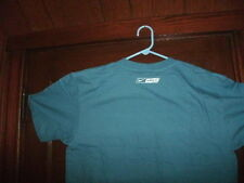hockey t-shirt short sleeve blue EQUIPMENT STILL WET large NWT in sealed bag