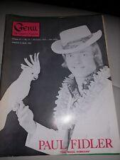 Paul Fidler Issue Vintage Genii Magazine 1974 The Magic Hawaiian