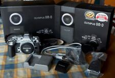 Olympus OM-D E-M1 16.0MP Digitalkamera - Silber *6060 Auslösungen TOP