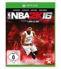 NBA 2K16  (XBOX ONE)  NEU & OVP