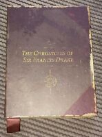 Uncharted Drakes Fortune Journal/Press Kit for PlayStation PS3 A1 Condition