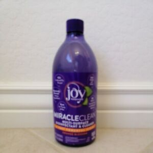 Joy Mangano Miracle Clean Disinfectant and Cleaner Orange Blossom 28 oz 838 ml