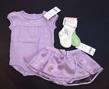 NWT Gymboree Castle Princess 0-3 Month Daddy Bodysuit 2pk Socks Satin Tutu Skirt