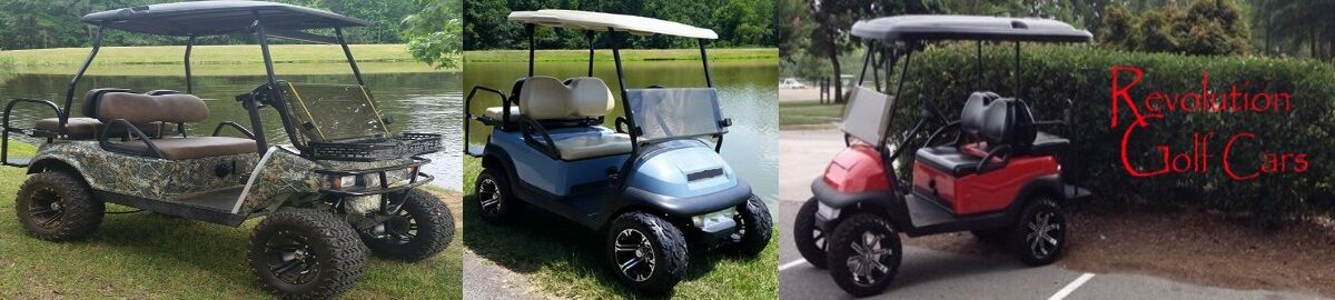 Revolution Golf Cars