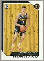 2018-19 Hoops #254 Michael Porter Jr RC