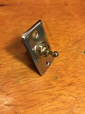 RAT ROD OLD VINTAGE DOME LIGHT SWITCH SCTA ROADSTER DASH INSTRUMENT BRASS ERA A