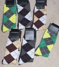 6 pairs of NEW NWD Picopi flawed argle mens socks size 10-13 multi colors dress