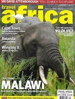 Travel Africa Magazine Malawi Cape Town Rwanda Migration Saving Wildlife 2014