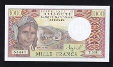 DJIBOUTI ----- 1000  FRANCS  1988 ------ UNC ----