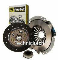 LUK 3 PART CLUTCH KIT FOR FORD TAUNUS 17M COUPE 2.0