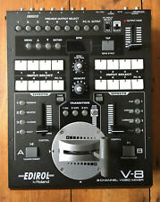 Roland Edirol V-8 8 Channel Video VJ Mixer with power cable