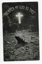 Nearer My God To Thee Titanic Postcard 1912 Bamforth No. 24