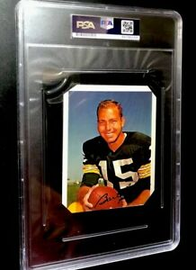 Bart Starr Signed Cut PSA/DNA Certified - PACKERS - SUPER VALUE !!!!