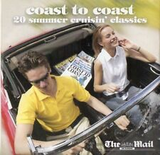 COAST TO COAST: 20 SUMMER CRUISIN' CLASSICS: PROMO CD (2002) 10CC, SQUEEZE ETC