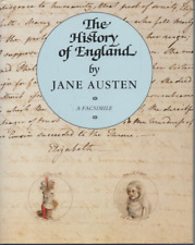 FACSIMILE THE HISTORY OF ENGLAND BY JANE AUSTEN BRITISH LIBRARY / FOLIO HB DJ 93