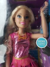 2017 Mattel Just Play Barbie Doll Barbie Doll 28 inches tall New