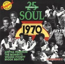 25 Years of Soul: 1970 by Various Artists (CD, Jun-1997, Rhino Flashback (Lab...