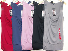 LADIES FANTASTIC QUALITY BC CLOTHING BEADED TOP 5 COLOURS 4 SIZES BNWT